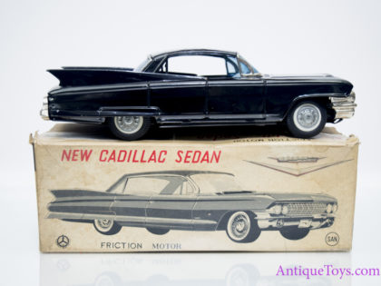 1961 Cadillac Sedan Tin Car Marusan Japan #3828
