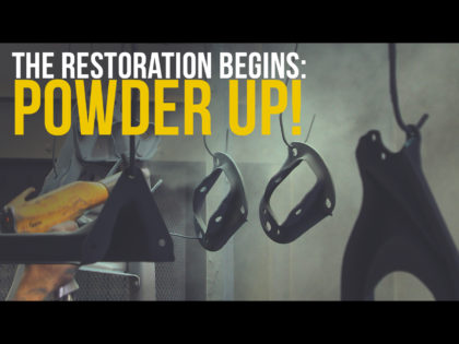 The Restoration Begins: Powder Up! – From The Ground Up Ep 2