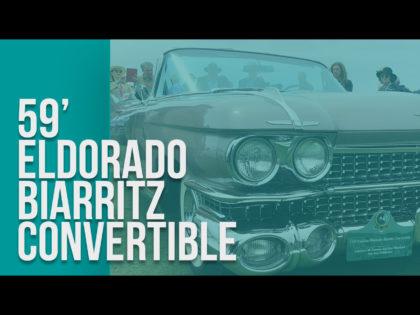 1959 Cadillac Eldorado Biarritz Convertible 1st Place Winner