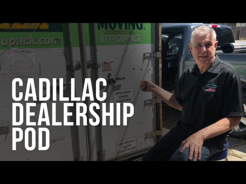 Cadillac Dealer Pod – 35+ Years of Literature and Memorabilia Unleashed
