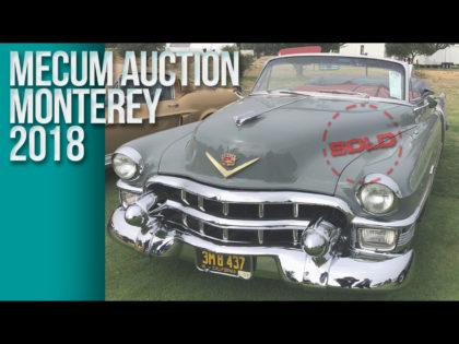 Mecum Auction Monterey 2018