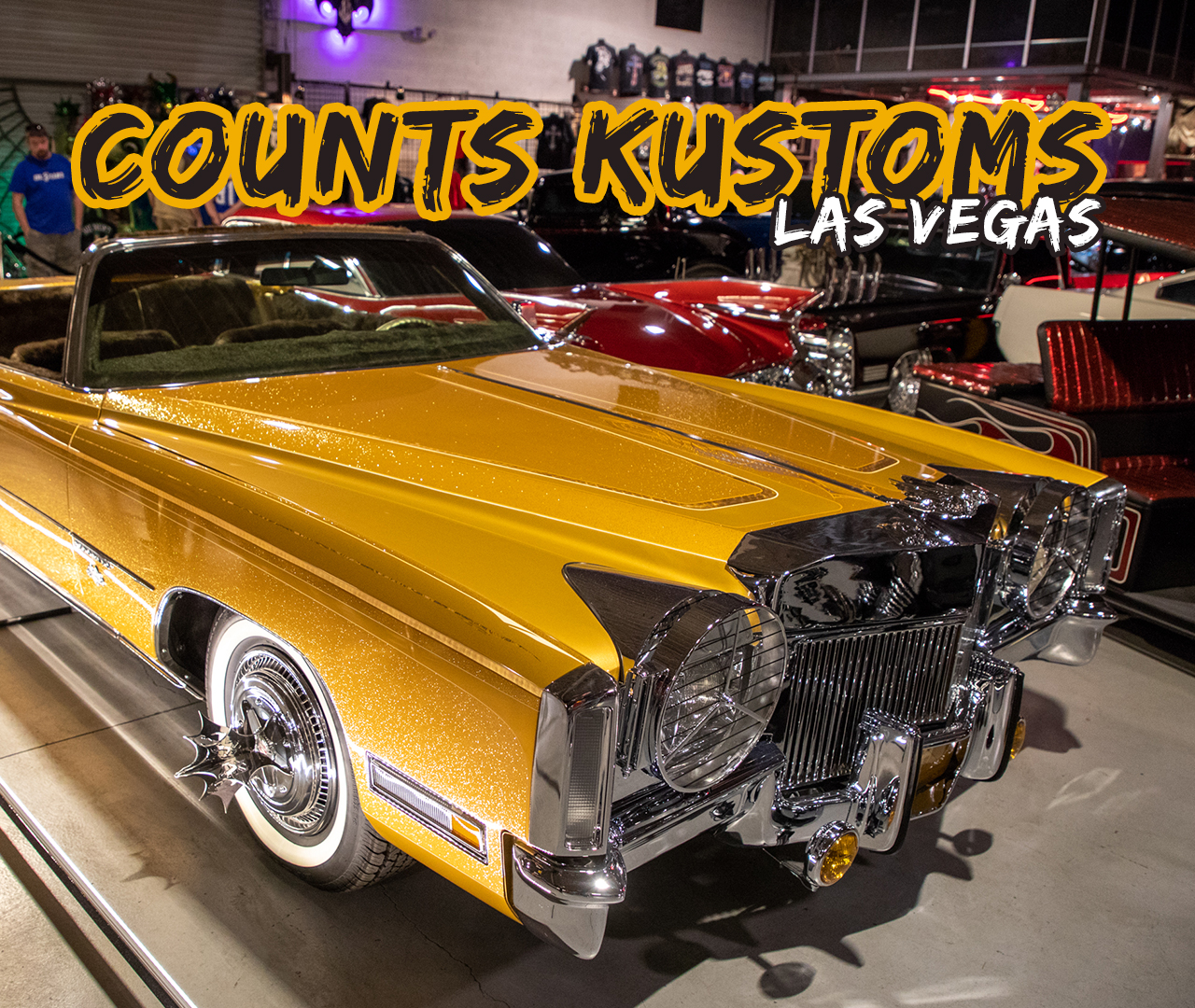 Count's Kustoms Las Vegas - Caddy Daddy Presents