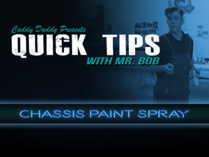 Quick Tips 01: Chassis Paint Spray
