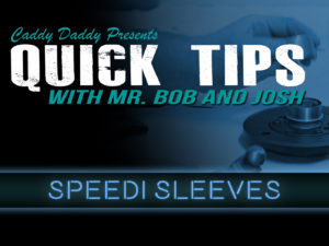 Quick Tips 02: Speedi Sleeves