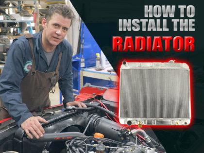 1964 Cadillac Radiator Install