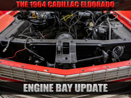 64′ Engine Bay Update