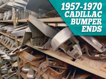 1957 – 1970 Cadillac Bumper Ends