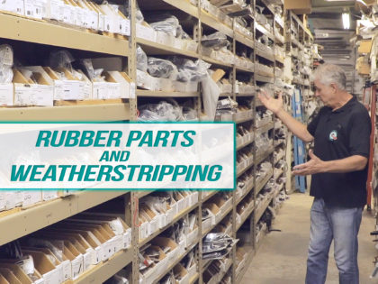 Cadillac Rubber Parts and Weatherstripping