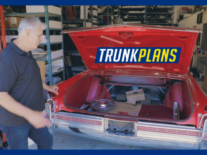 1964 Cadillac Eldorado Trunk Parts