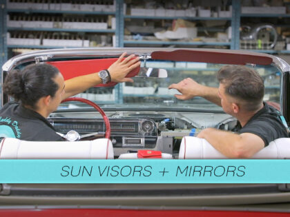 Sun Visors and Mirrors