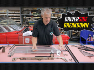 1964 Cadillac Eldorado Driver Side Window Breakdown