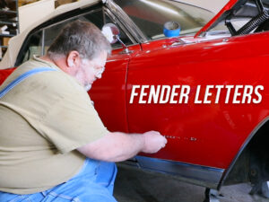 Installing Fender Letters on the 1964 Cadillac Eldorado