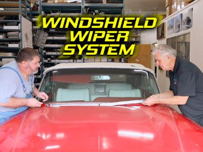 1964 Cadillac Eldorado Windshield Wiper System
