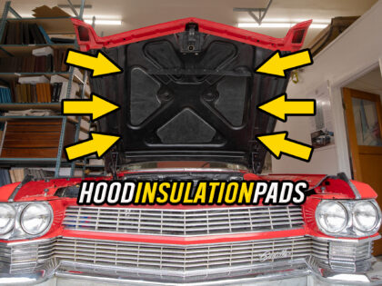 How to Install Cadillac Under the Hood Insulation Pads