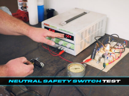 How to Test the Neutral Safety Switch for your Cadillac