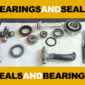Cadillac Bearings and Seals – General Info