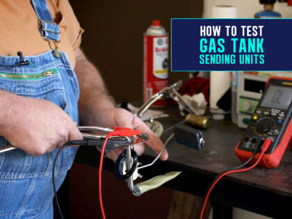 How To Test A Cadillac Gas Tank Sending Unit