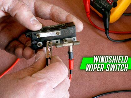 1959-1960 Cadillac Windshield Wiper Switch