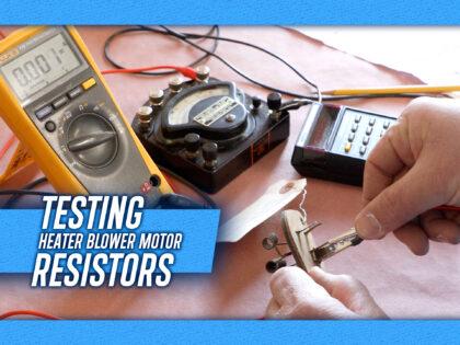 Cadillac Heater Blower Motor Resistors