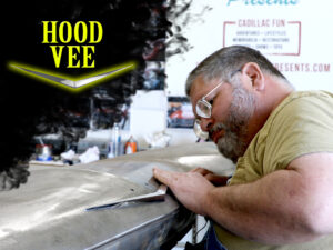 How To Repair and Install A Cadillac Hood Vee