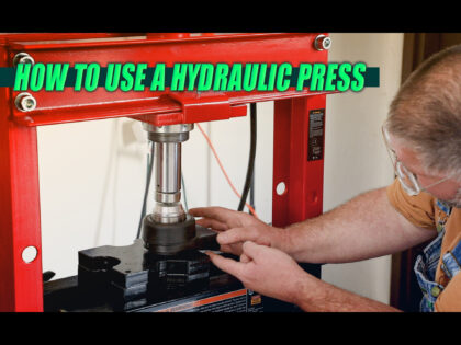 How To Use A Hydraulic Press