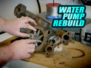 How To Rebuild A Cadillac Water Pump