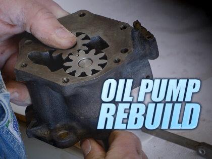 How To Rebuild A Cadillac Oil Pump