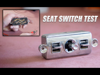 How To Test and Refurbish a Cadillac Power Seat Switch