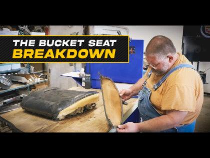 Inside The 1959 Cadillac Bucket Seats