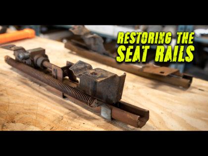 Restoring the 1959 Cadillac Eldorado Bucket Seat Rails