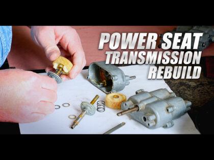 How To Rebuild A Cadillac Power Seat Transmission