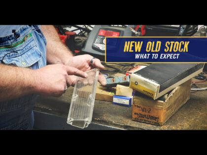 New Old Stock (NOS) Parts – What To Expect