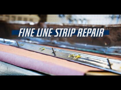 How To Repair a 1959 Cadillac Fine Line Strip